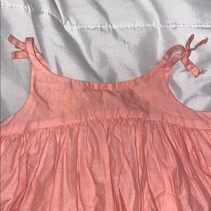 GAP Dresses - babygirl  coral dress - 18/24m
